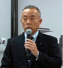 新和製作所の山崎社長