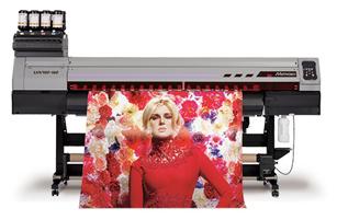 Roll to Roll UV硬化インクジェットプリンター UJV100-160