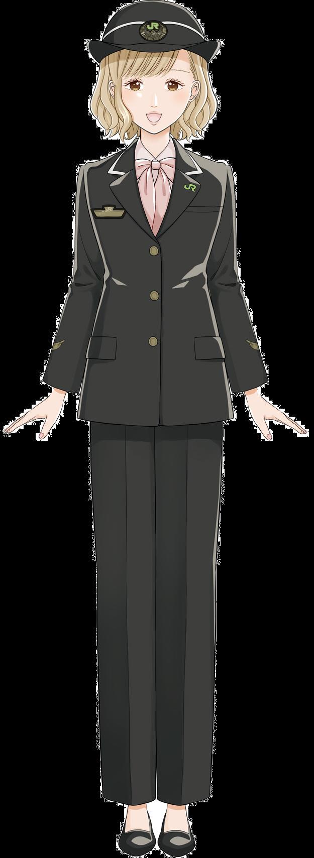 バーチャルキャラクターの「小石川 彩」