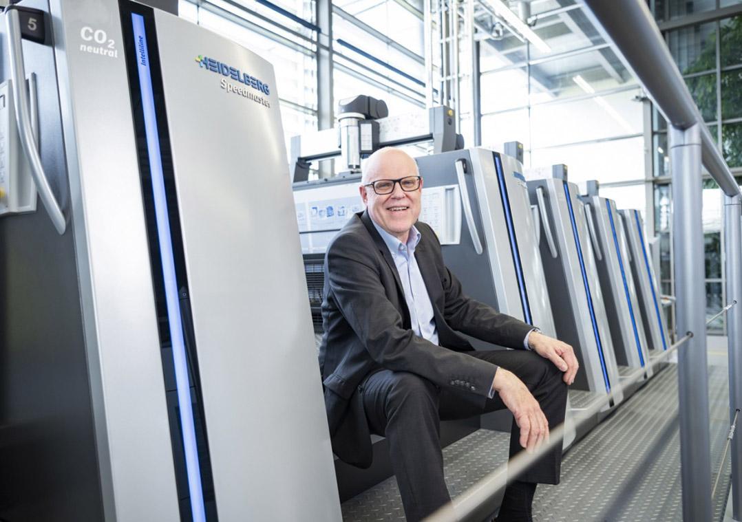 ハイデルベルグ最高経営責任者ライナー・フンツドルファー氏。「世界中で新型コロナウィルス感染症が拡大していますが、私たちはお客様を最大限サポートしていきます」