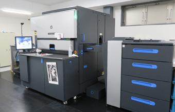 バリアブル印刷で活躍するHP Indigo デジタル印刷機