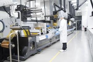 ハイデルベルグ社はプリンテッドエレクトロニクスおよび有機エレクトロニクスの生産をウィスロッホ-ヴァルドルフ工場で開始した