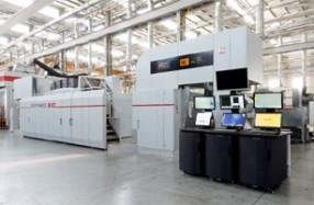 軟包装向けデジタル印刷機 Sapphire EVO M Press