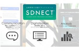 「SDNECT™」で提供予定の3つの機能