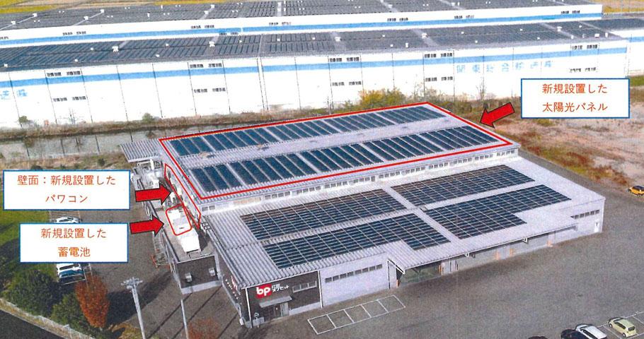川島工場太陽光
