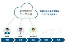 受発注業務を効率化するBizCard Webデータ入稿