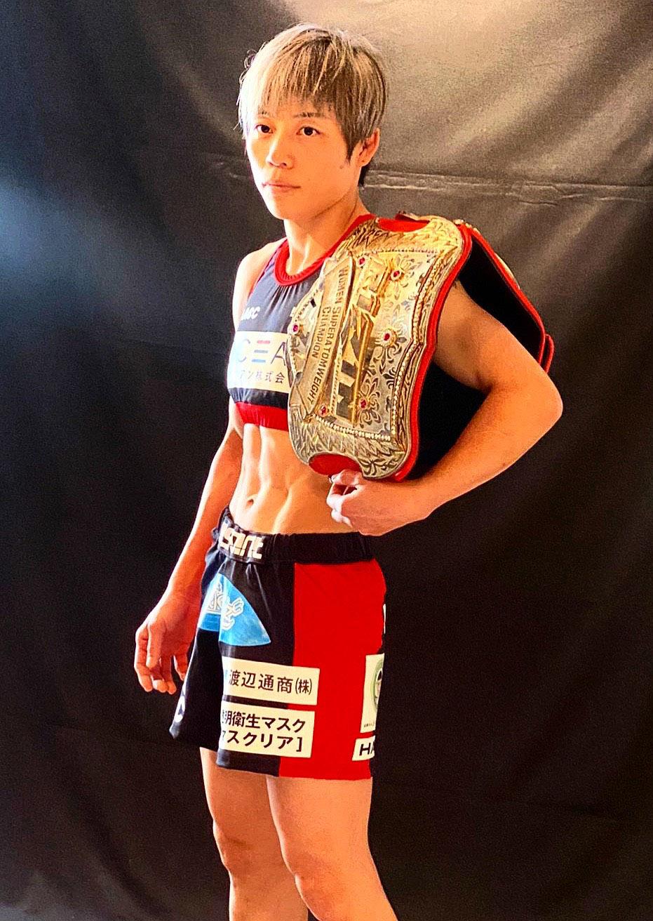 RIZIN 浜崎選手