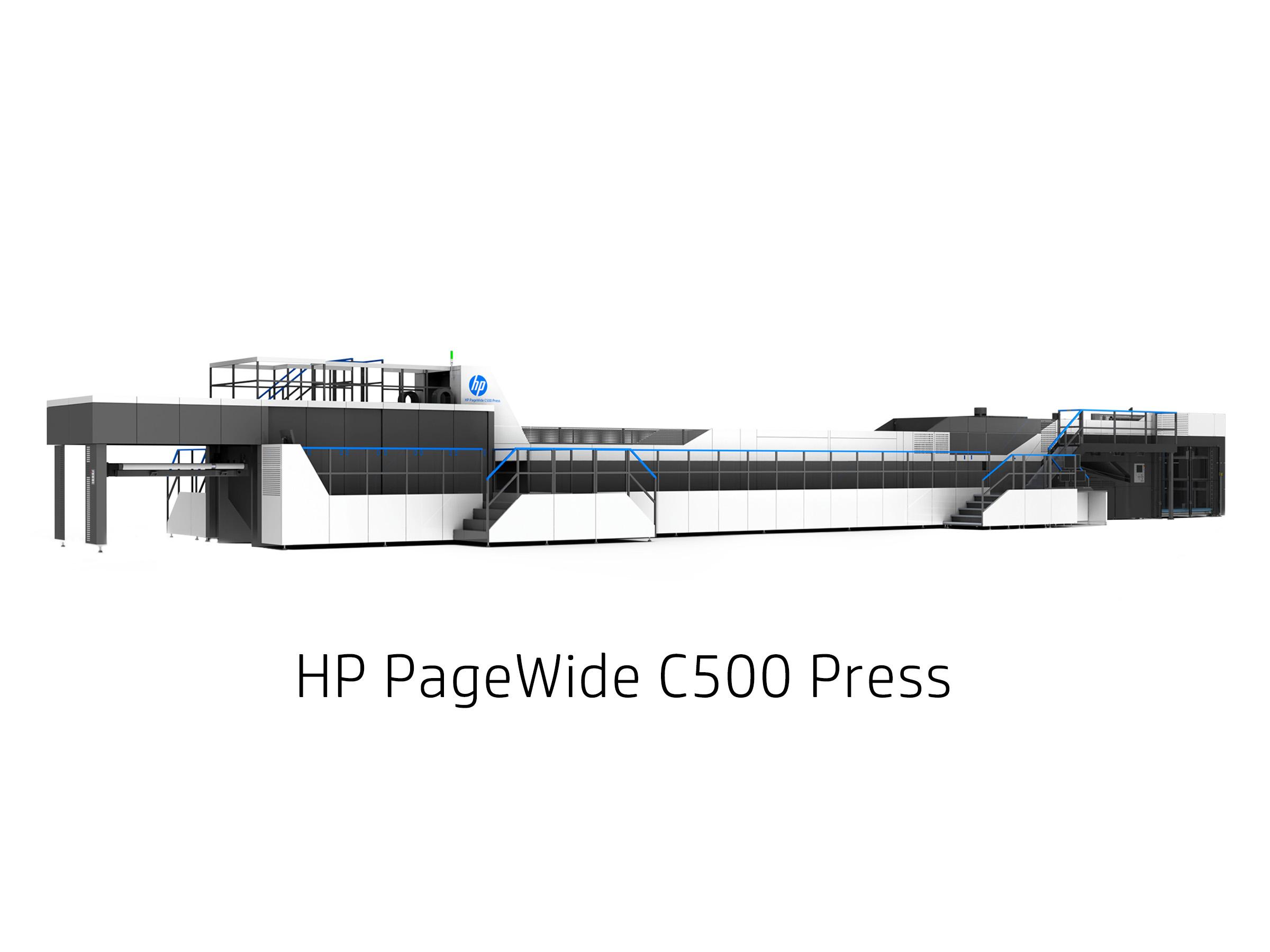 HP PageWideC500Press
